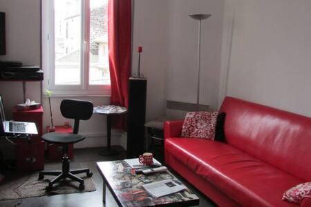 Chambre dans F2 tranquille de 40m2 à Clermont - Appartement