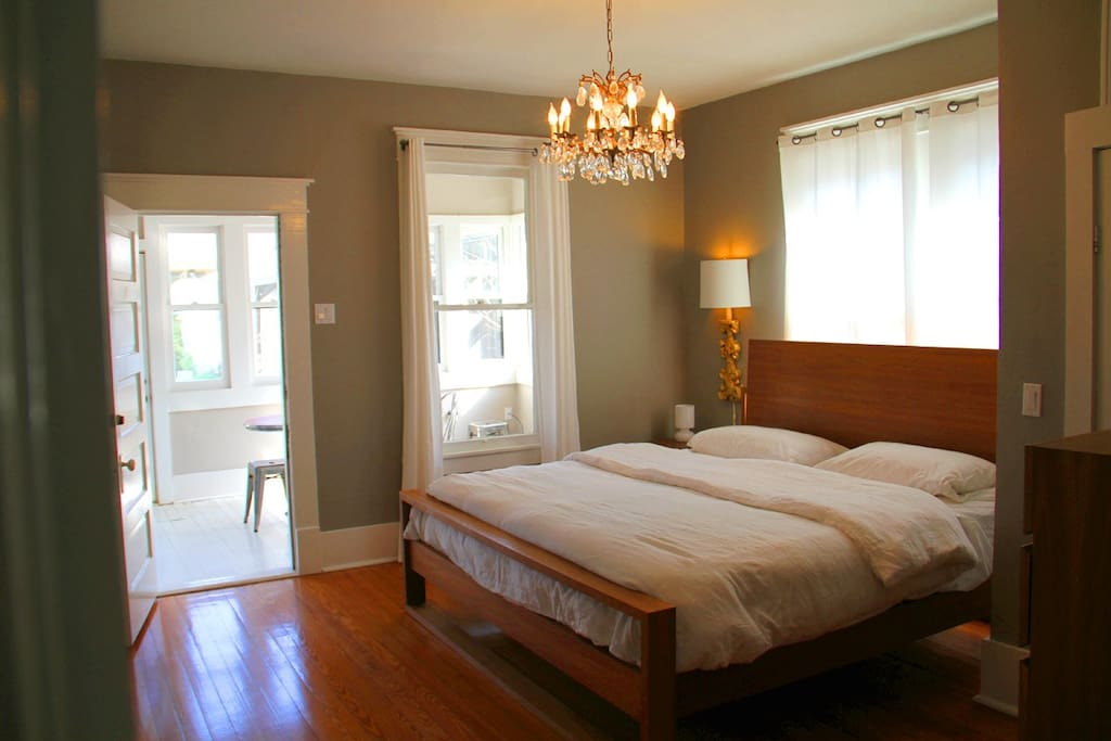 Master Bedroom with Eastern King