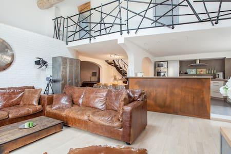 Ático tipo loft impresionante - Narbona - Loft