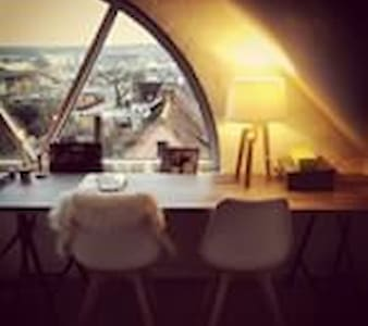 Charmerende lejlighed i to etager - Appartamento