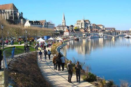 Appartement hyper-centre Auxerre - Lejlighed