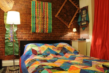 Comfy room in vibrant East Village