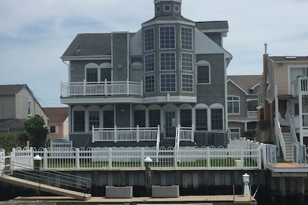 """WATERFRONT"" Longport ,Ocean City, Margate, AC - Casa"