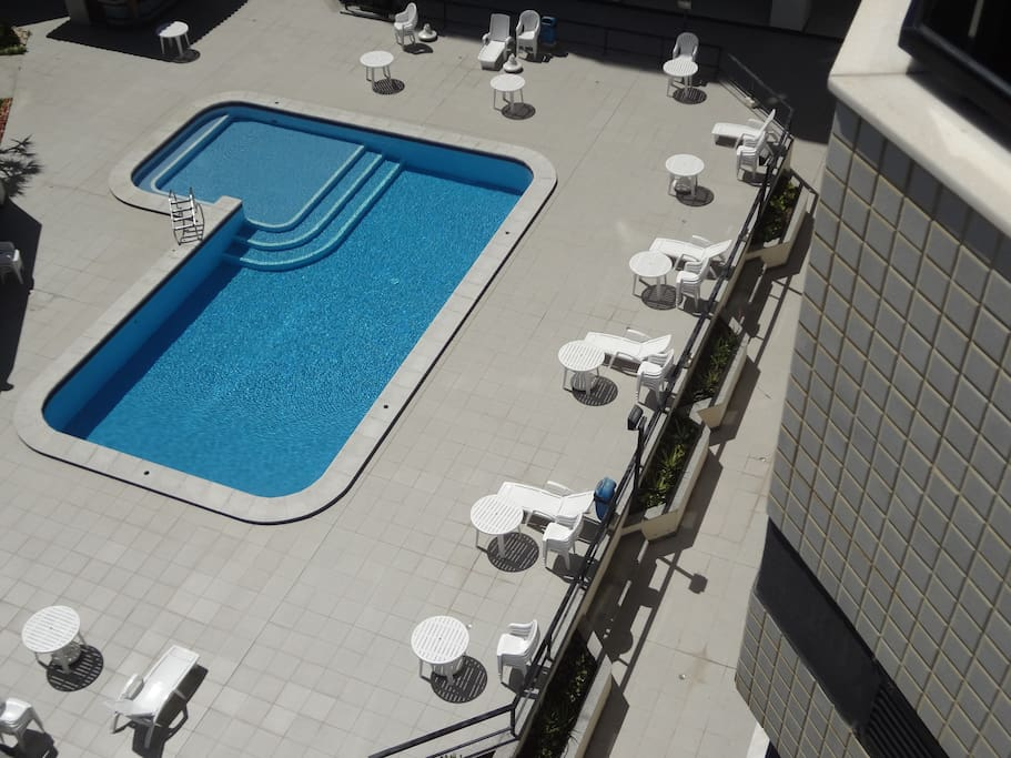 One of Salvador's most beautiful swimming pools.