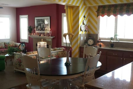Enjoy Colorful Accommodations