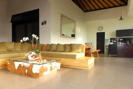 Studio D (44 m2), Lounge & Garden - North Kuta