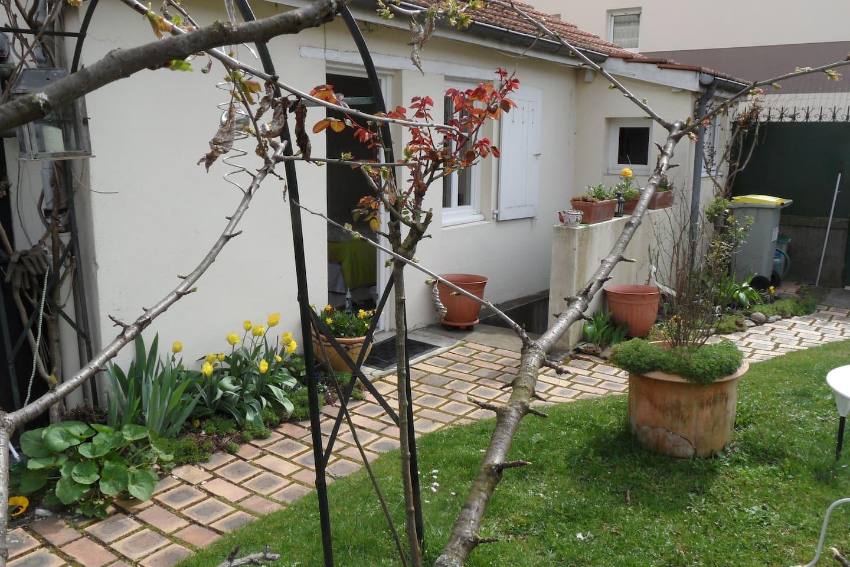Jardin au mois de mai