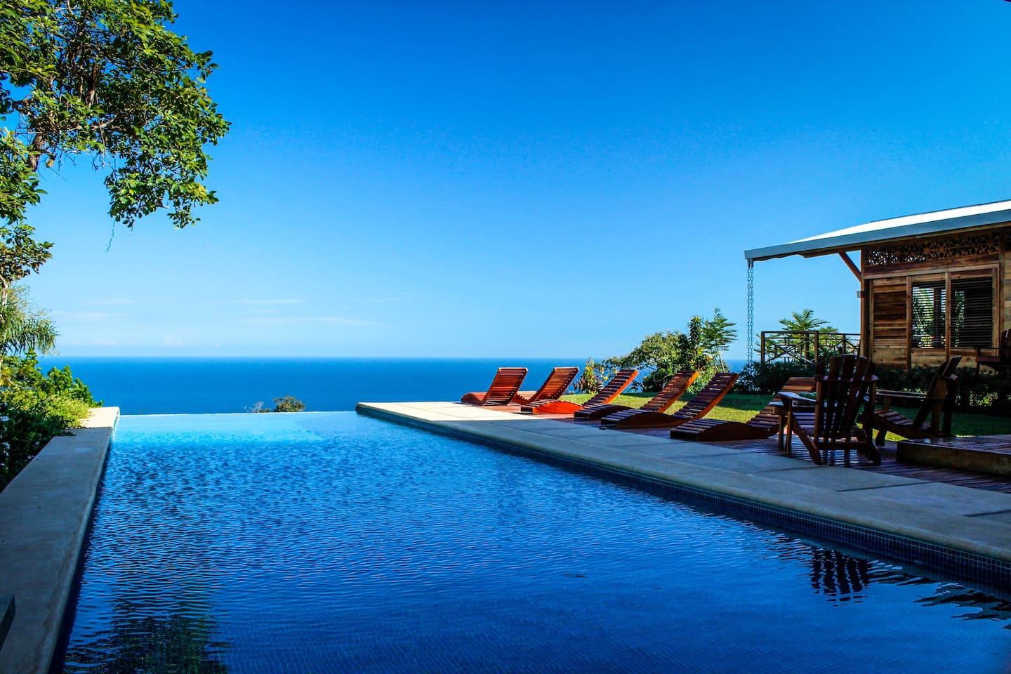 Beautiful Infinity Edge Pool