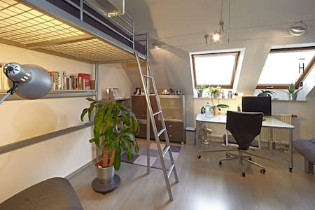 Mini Loft in Periphery of Nuremberg - Casa
