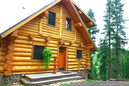 Romantic Getaway - Full Log Home - Casa