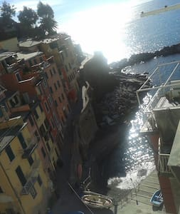 5 Terre_House by the sea - Riomaggiore - Apartamento