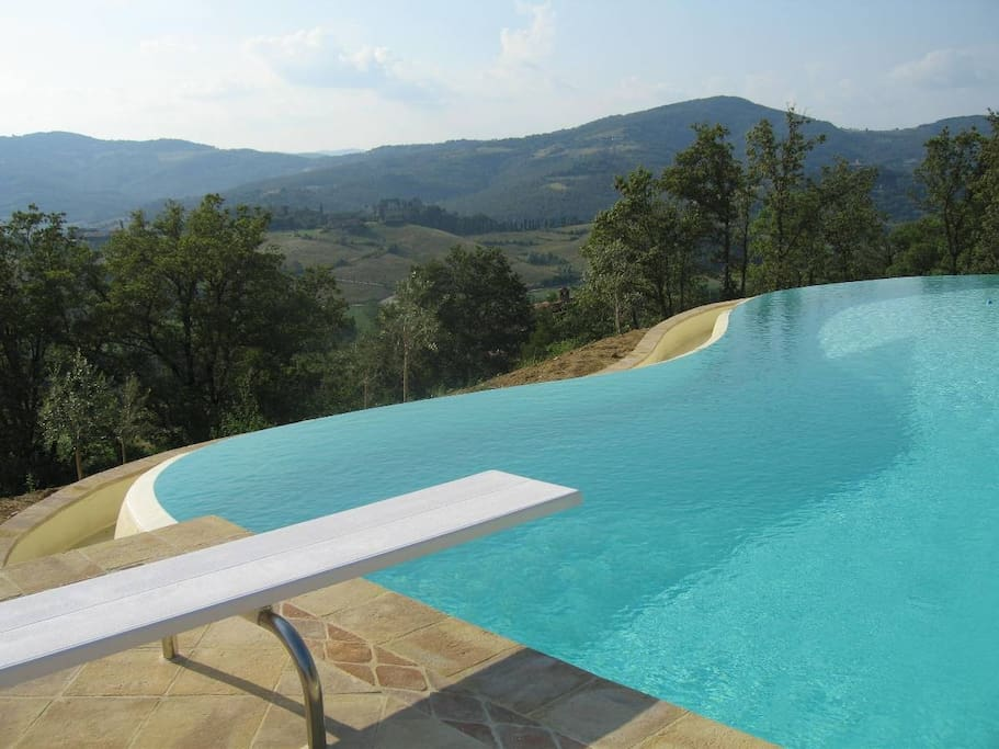 View of the pool.