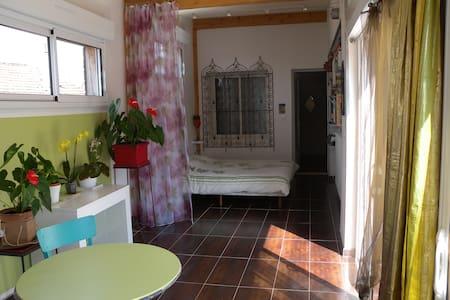 Charmant studio indépendant avec terrasse - House