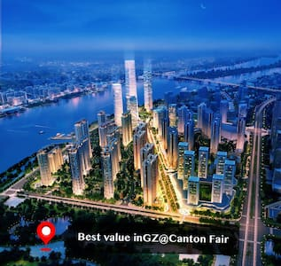 Best value in GZ RoomA@Canton Fair - Guangzhou - Wohnung