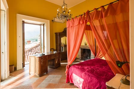 camera con camino - Venafro - Bed & Breakfast