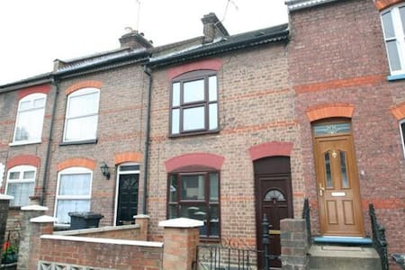 All ready for you!  lovely terraced house in the centre of town, close to all amenities, with two double bedrooms, modern kitchen and bathroom.  The house is situated on a quiet residential area.  The airport is only 5 min drive!