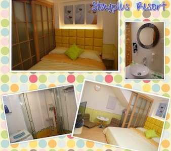 Cheung Chau Guesthouse - Room for 2 - Byt