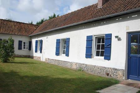 Fermette picarde en Baie de Somme - Vercourt