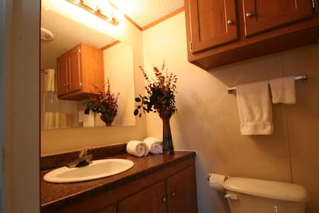 1 Bedroom studio with private bath - House