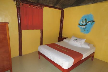 Single/double room in Mayan Ecotouristic paradise - Cottage