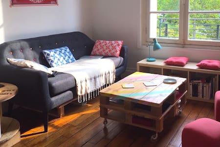 Appartement cocooning à Enghien-Deuil - Deuil-la-Barre