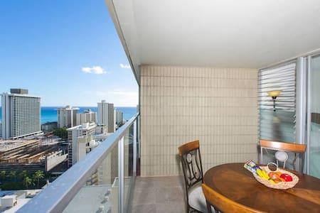 Waikiki Ocean View + Free WiFi