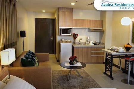 A1 Deluxe Suite at Azalea Residence - Baguio City - Apartment