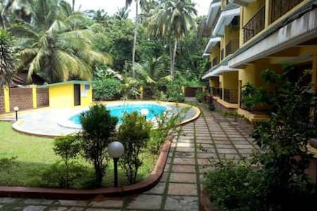 'RIVERRUN'-Kid friendly 1BHK-Centre of Baga Arpora - Candolim