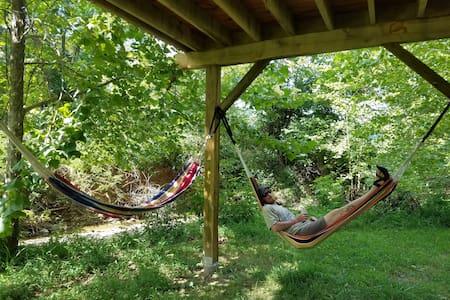 Abi's Arboreal Abode & Hammock Haven (AAAHH...) - Berea - Casa sull'albero