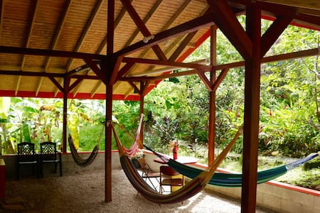 Camping & Hammocks - Beyond Vitality Nature Camp - Castle Bruce