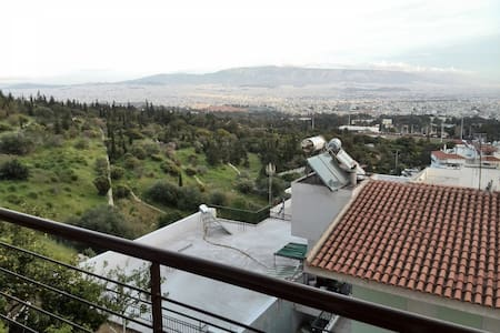 Fantastic Athens view apartment - Chaidari - Apartment
