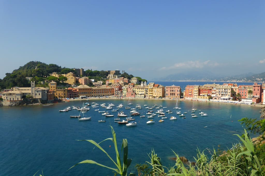 "Sestri Levante ""Baia del Silenzio"" voted by Tripadvisor one the best beach!"