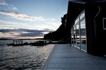 BOATHOUSE by Great Lake, Jämtland - Östersund
