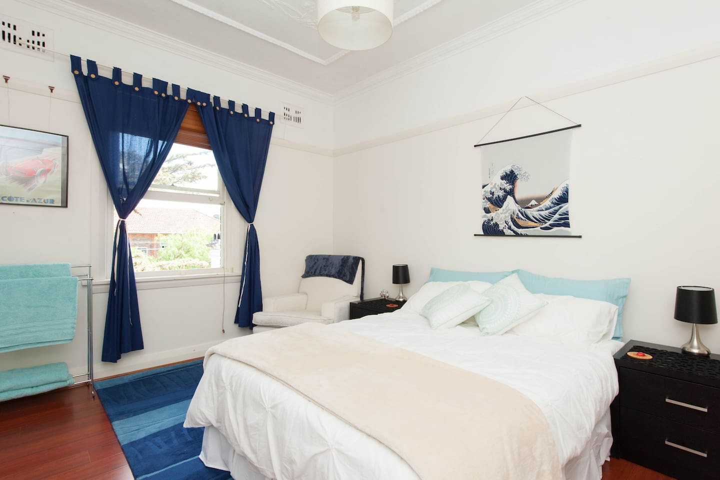 Large private sunny clean room with everything you need!