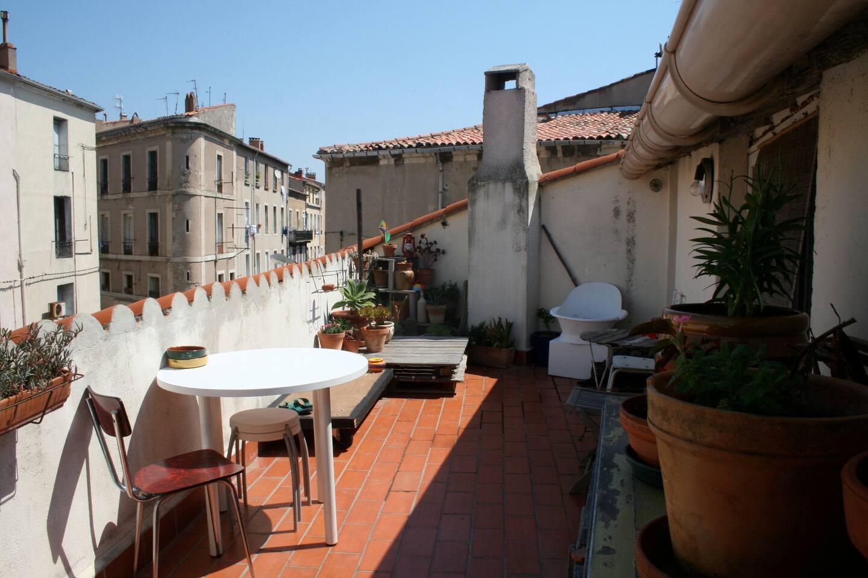 Agréable studio avec belle terrasse