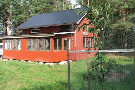 Swedish Rally house in forest! - Cabaña