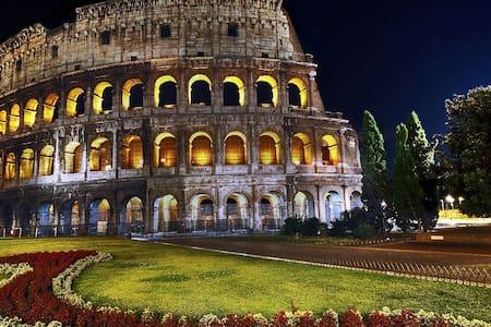 Center rooms Near Colosseum B&B.. - Roma - Bed & Breakfast