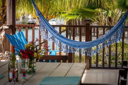 Tropic style villa at a lagune. - Kralendijk - Villa