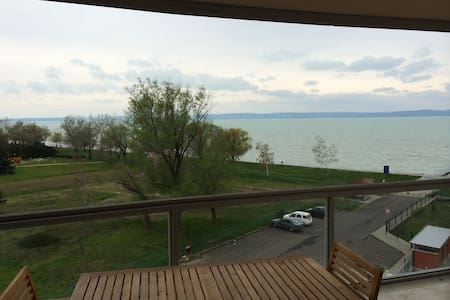 LuxApart8 with view to lake Balaton