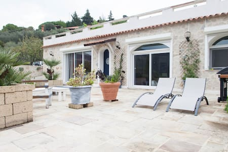 Bordighera,Villa Maria 3 km from the beach in - Camporosso - Villa