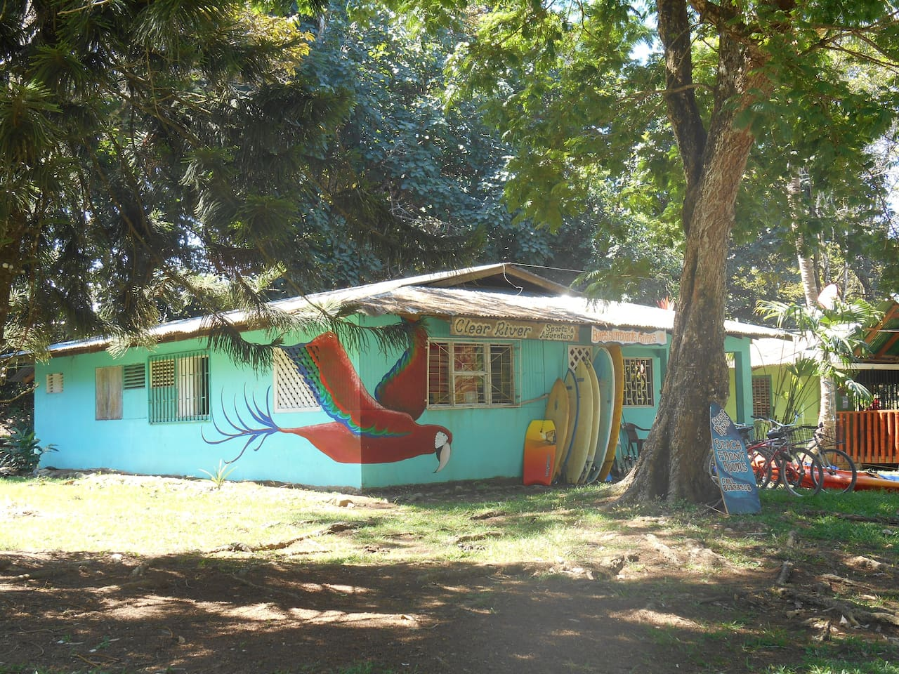 Clear River Cabinas & rentals