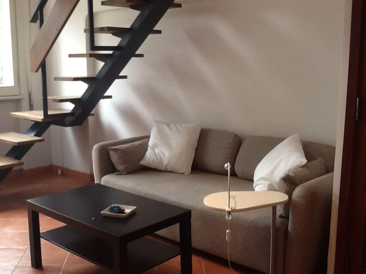 Salotto- divano letto
