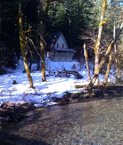 River View Cabin, Mt Hood Forest - Cottage
