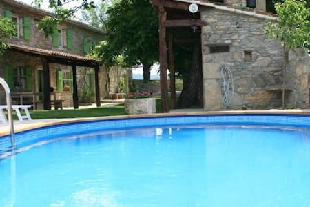 Traditional stone house with pool! - House
