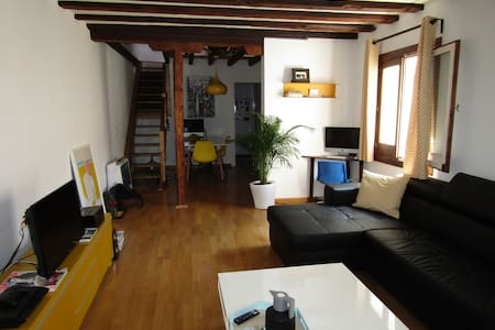 Lovely duplex in Madrid center! (Gran Via/Chueca) - Madrid - Apartment