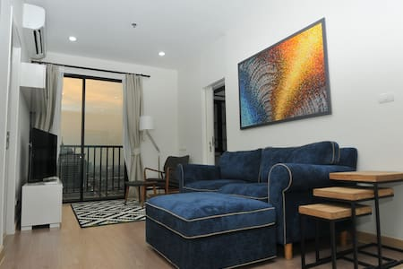 Fully furnished 3BD great city view - Appartement