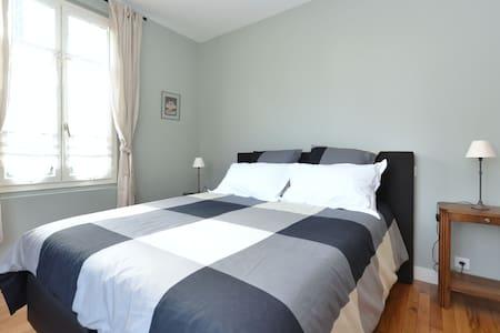 belle chambre double sur jardin - Haus