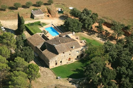 Can Borras_Luxury Villa _(weekly/summer) 13+2 pax - canelles navata girona, - Hus