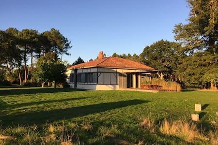 Maison landaise pour réunions de famille (10 pers) - Arengosse
