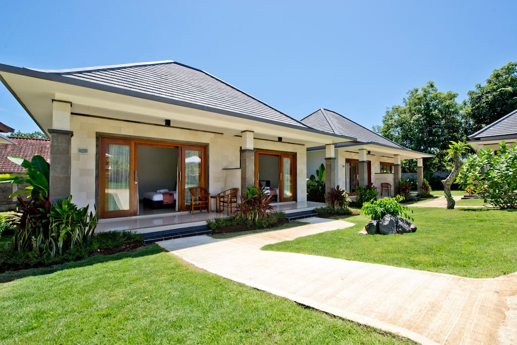 This is what your bungalow will look like.